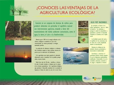Panel1 Agricultura Ecologica - Una Alternativa Sostenible